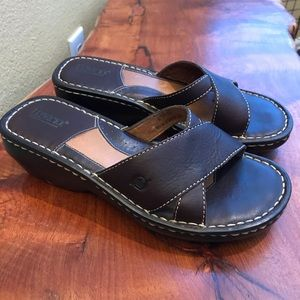 Brown Sandals by Born